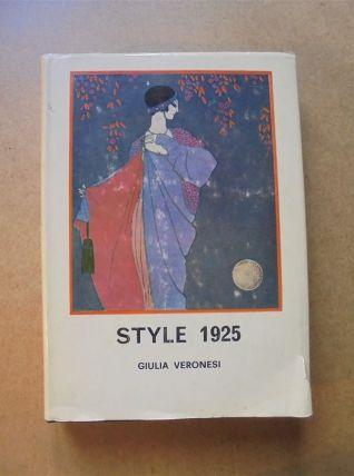 "Livre ""Style 1925"" de Giulia Veronesi"