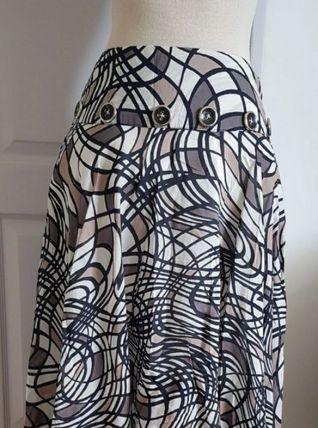 Jupe RENE DERHY motifs graphiques t 38/40