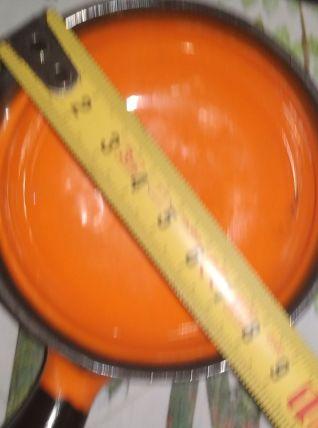 Poêlon orange VALLAURIS