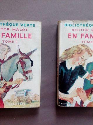 En famille, Hector Malot, tome I et II (complet)