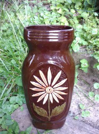 Grand vase en céramique - Années 60