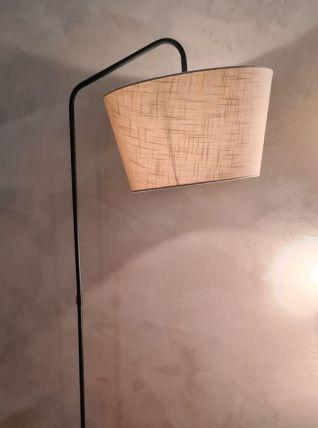 lampadaire vintage lisieuse année 1950, design, élégant  dan