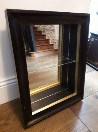 Vitrine étagère miroir