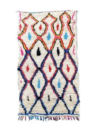 Tapis Berbere Vintage Azilal 110×205 Cm