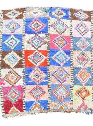 Tapis berbere boucherouite 135×180 cm