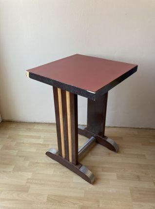 Table bistrot vintage 50s à rénover