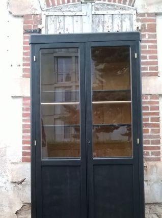 armoire vitrine parisienne année 50