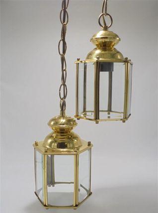 Duo de suspensions lanternes