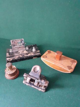 Ensemble d'accessoires de bureau vintage