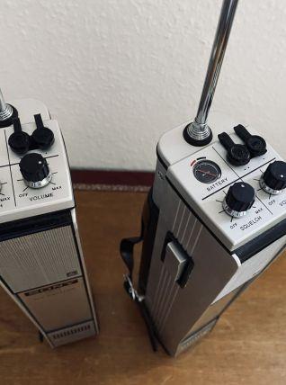Paire Talkie-Walkie Sony Vintage 1970 en ex. état de marche