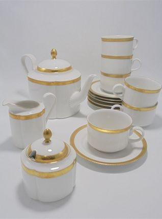 Service à café ou à thé en porcelaine allemande