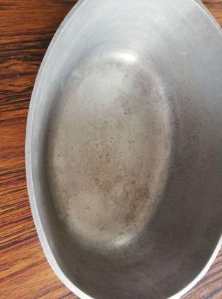 Cocotte ancienne en fonte d'alu
