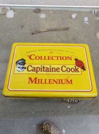 Boîte métallique publicitaire '' CAPITAINE COOK ''