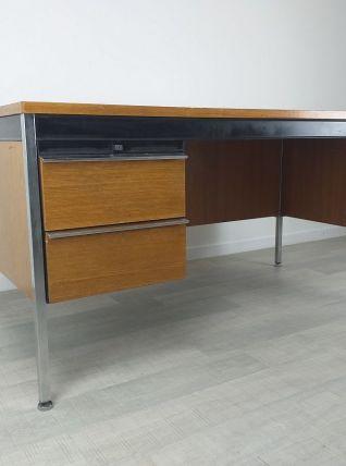 Bureau de direction design moderniste années 70 vintage chên