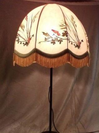 Lampe boule Herbier vintage