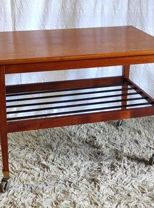 Table basse en teck – années 50/60
