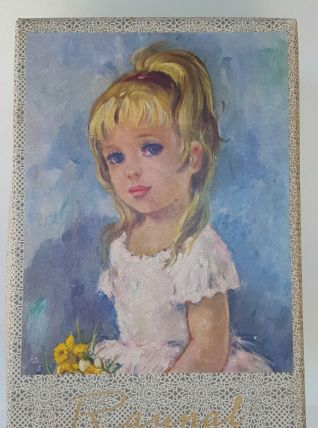 boîte poupée RAYNAL vintage
