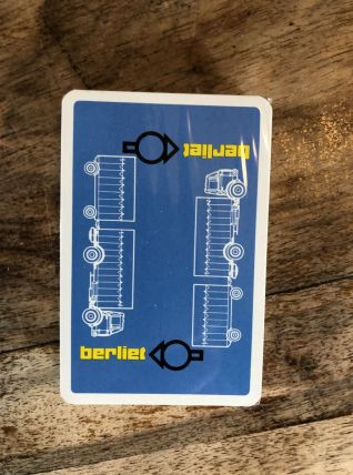 Jeu de cartes Berliet