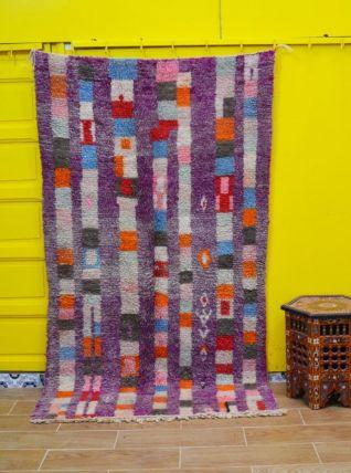 210x120cm Tapis berbere marocain