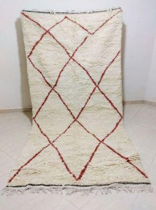 260x137cm tapis berbere marocain