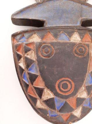Masque Baoulé Lunaire ou Kplé Kplé,année 70