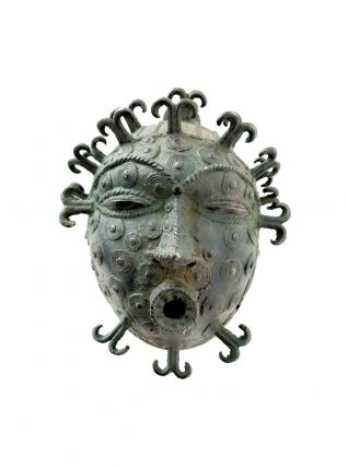 Rare Masque de la tribu Tikar du Cameroun