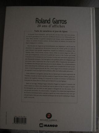 Roland Garros 20 ans d'affiche