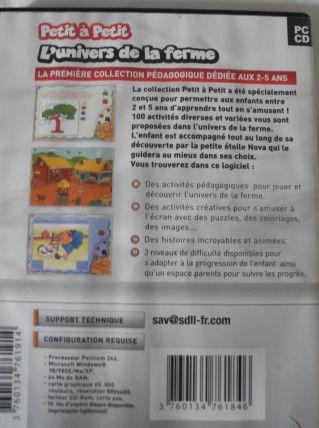 """Lot 2 DVD """"Petit à Petit"""" pour les 2 à 5 ans"""