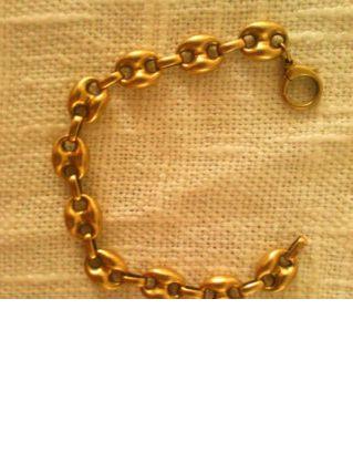 bracelet en or massif 14k italie 20g
