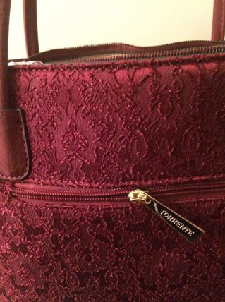 Sac a Main Torrente Couleur Bordeaux