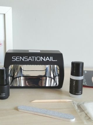 Kit manucure semi permanente Sensationail