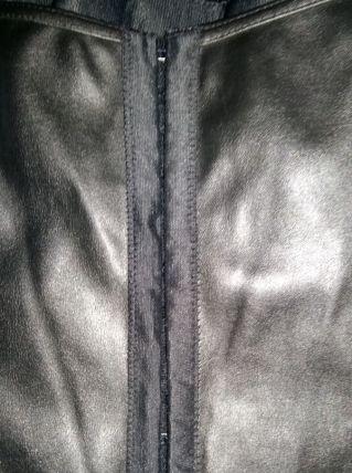Haut femme façon cuir