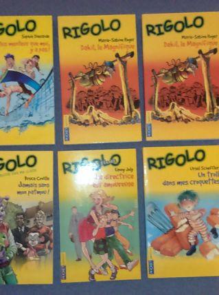 Livres collection Rigolo
