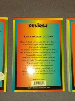 Livres collection Délire