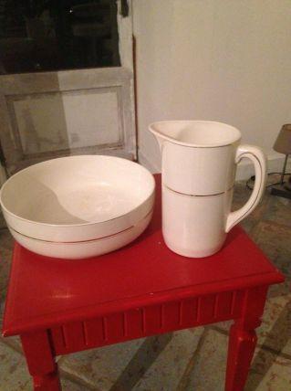 Pichet et vasque