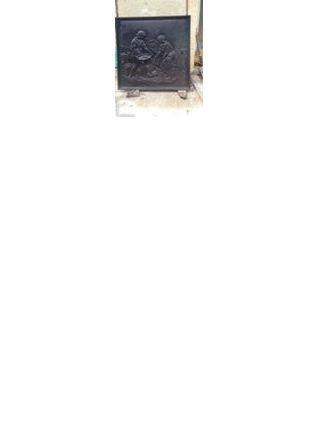Plaque cheminée en fonte