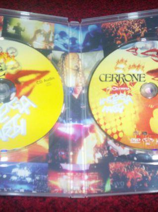 BOITIER 2 DVD CERRONE CONCERT OLYMPIA JANVIER 2003