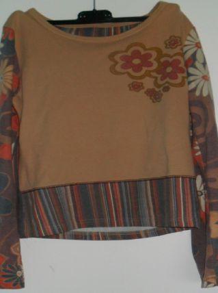 tee shirt coloré femme taille 38- 40