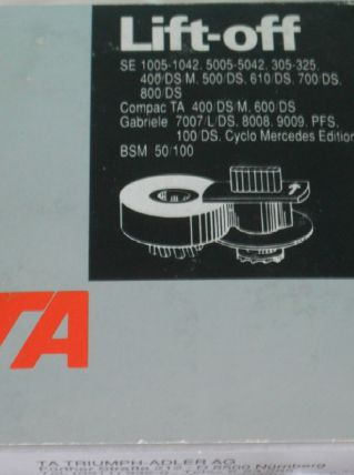 Brother Lift Off Tape Se 1005 -1042. 5005 - 5042....