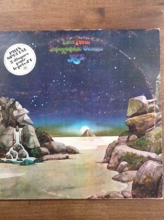 Album double vinyles de YES / Tales from Topographic Oceans