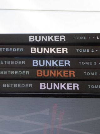 Lot de 05 BD ''Bunker'' de BETBEDER & BEC (TBE)
