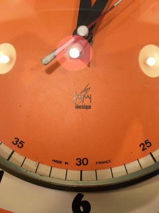 Horloge vintage orange