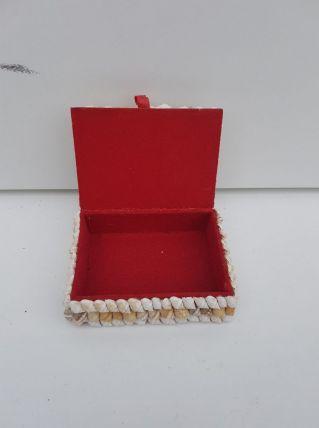 Coffret à bijoux coquillages