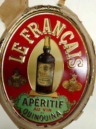 """Publicité Tôle lithographiée """"Le Français"""" 1915"""