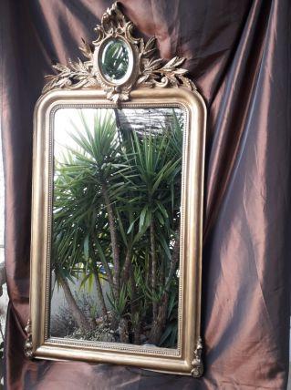 Miroir ancien de cheminé