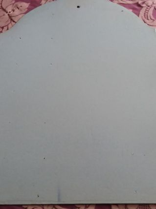 Plaque emaille