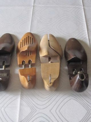 12 paires Embauchoirs chaussures en bois