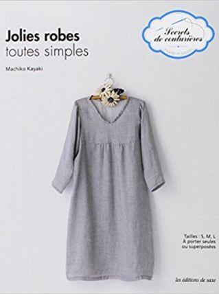 LIVRE JOLIES ROBES TOUTES SIMPLES/TAILLE S/M/L
