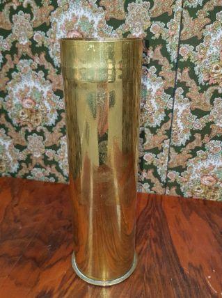 Ancien douille obus en cuivre 1917