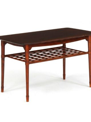 Table basse en hêtre